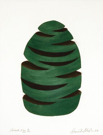 David Nash, 'Sliced Egg', 2007