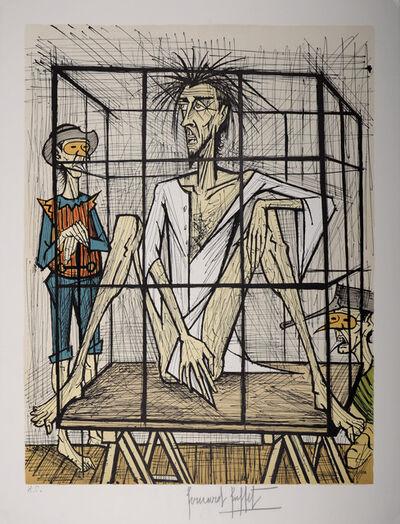 Bernard Buffet, 'Don Quixote en cage', 1989