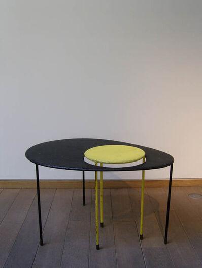 Mathieu Matégot, 'Ovoïde «Kangourou» table', 1954