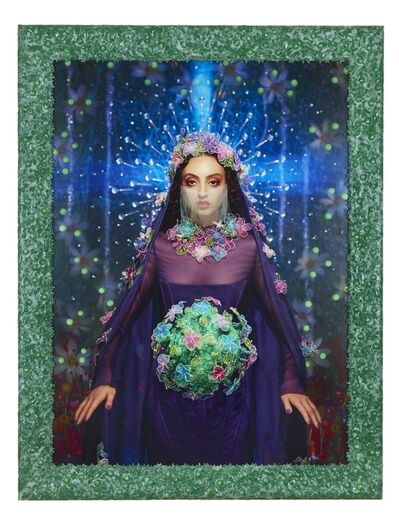 Pierre et Gilles, 'Our Lady of Corona (Clara Benador)', 2020