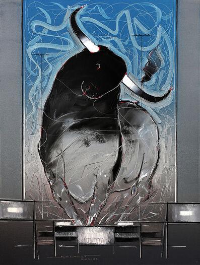 Sujth Kumar G.S. Mandya, 'Bull Painting - 53', 2013