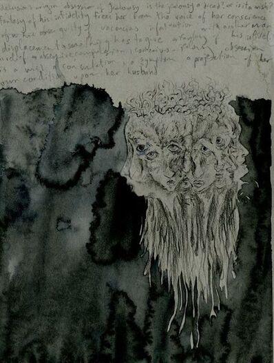 Jim Holyoak, 'Subway Drawing with Freud', year unknown