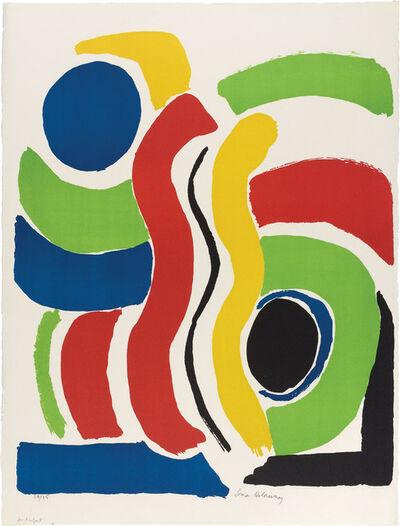 Sonia Delaunay, 'Jeux D'Enfants', 1970