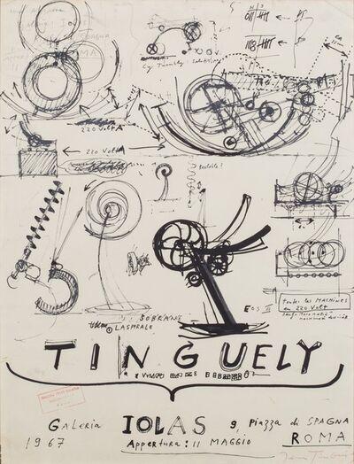 Jean Tinguely, 'Tinguely', 1967