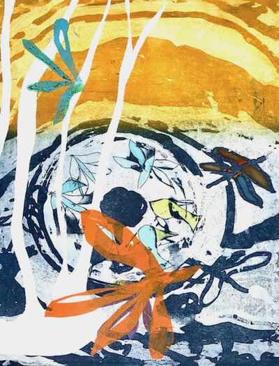 Jan Farrell, 'Blue Dragonfly', 2021