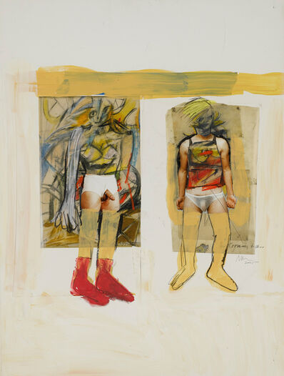 Richard Prince, 'Untitled (with de Kooning) (Underwear)', 2005