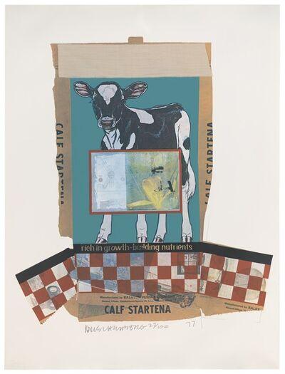 Robert Rauschenberg, 'Calf Startena (Chow Bags)', 1977