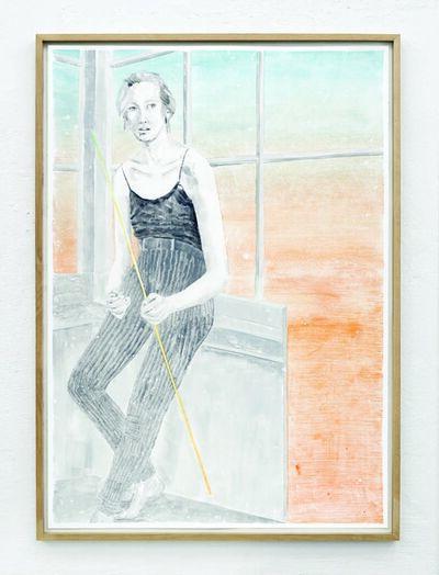Marion Fink, 'Hinter ihrer eitlen Leere erhob sich das Bild eines gewichtlos wölbenden Himmels.', 2017