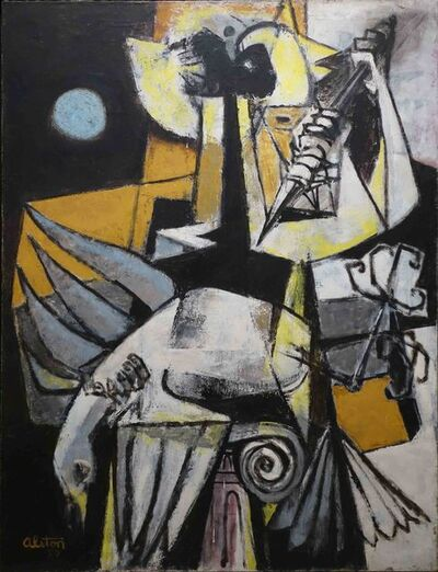 Charles Alston, 'Symbol', 1953