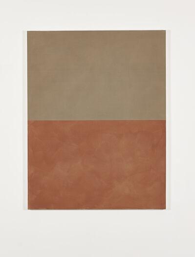 Peter Joseph, 'Ochre with Dull Orange', 1997