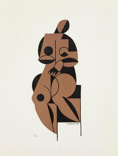 Henryk Berlewi, 'Female Nude', 1922