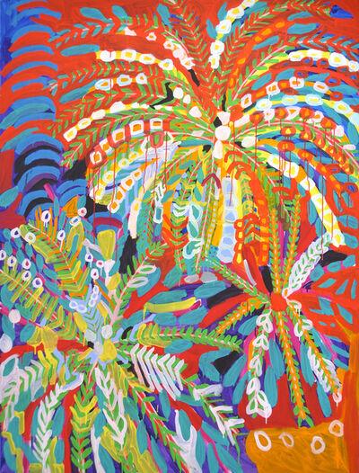 Susi Kramer, 'Palmenblumen', 2014