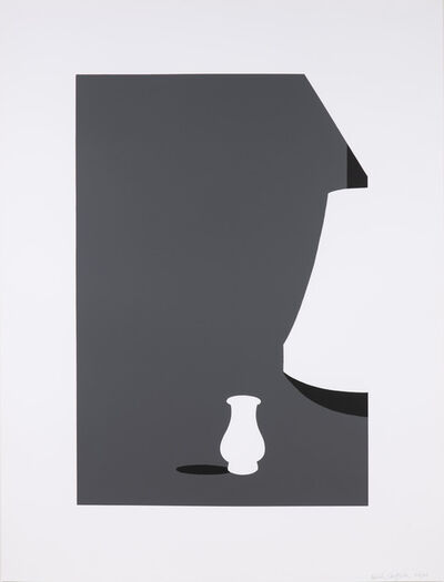 Patrick Caulfield, 'Lamp and Kuan Ware', 1990