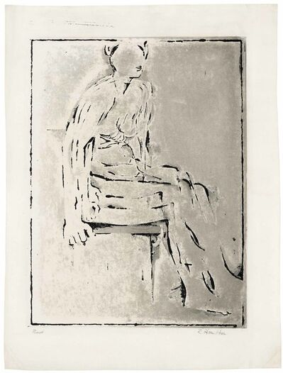 Richard Hamilton, 're Nude etching', 1954