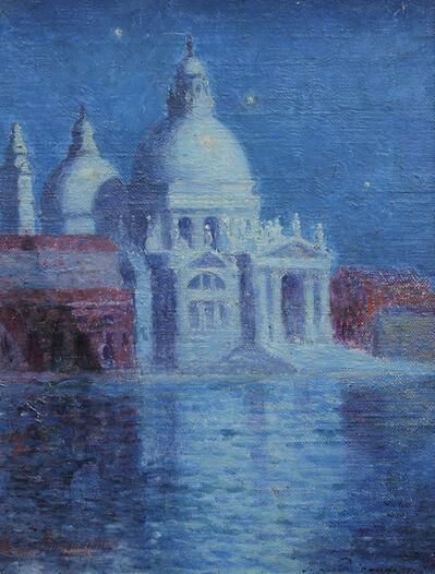 Ferdinand du Puigaudeau, 'Santa Maria della Salute, Venise la nuit', ca. 1885