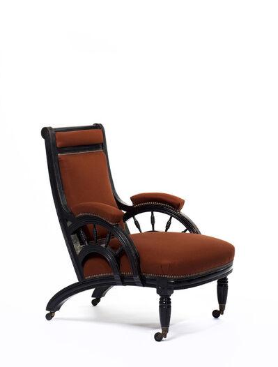 Edward William Godwin, 'Lounge chair', ca. 1876