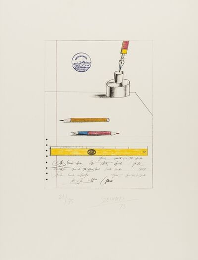 Saul Steinberg, 'Papeterie', 1973
