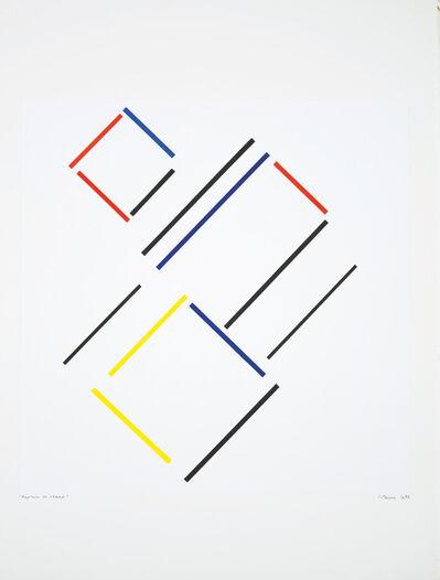 Geneviève Claisse, 'Rupture de Champ (transparence)', 1992