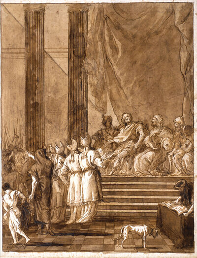 Giovanni Domenico Tiepolo, 'A Disputation between Kings and Priests', 1770-1790