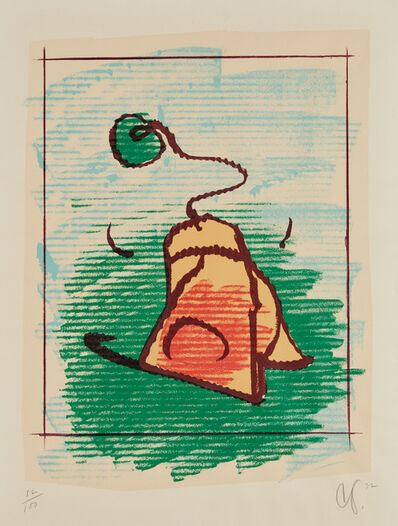 Claes Oldenburg, 'Tea Bag', 1972