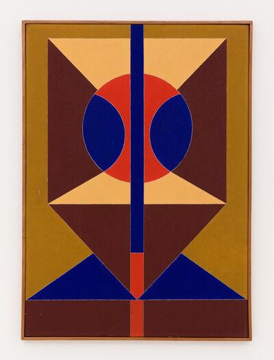Rubem Valentim, 'Emblema Atipico', 1990