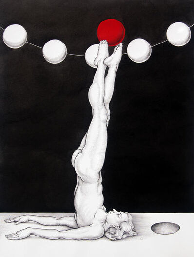 Michael Bergt, 'Red Ball'