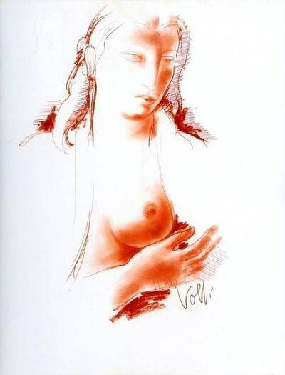 """Antoniucci Volti, 'Original Sanguine """"Torso"""" by Antoniucci Volti'"""
