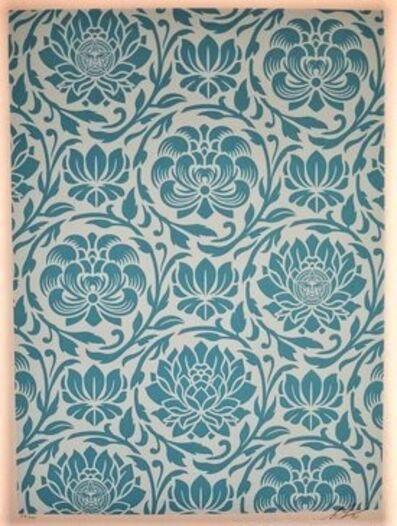 Shepard Fairey, 'Floral Harmony Blue Yin Yang', 2020