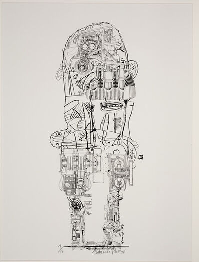 Eduardo Paolozzi, 'Standing Figure', 1956