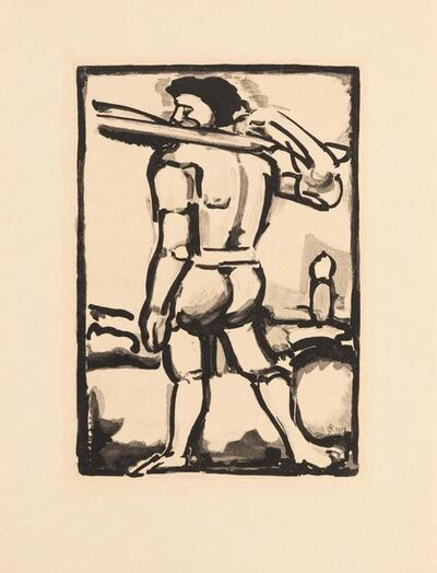 Georges Rouault, 'A group of 10 prints from Miserere', 1923
