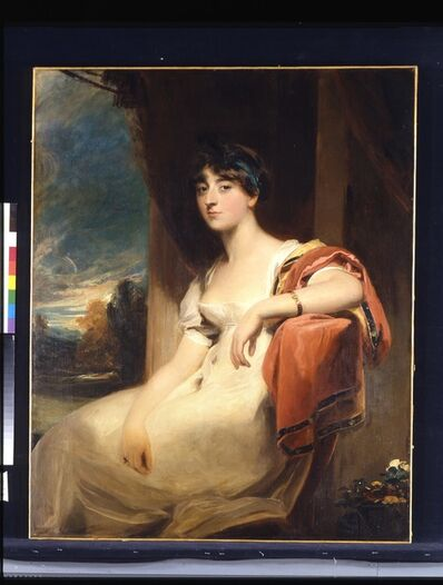 Thomas Lawrence, 'Miss Harriet Clements', ca. 1805