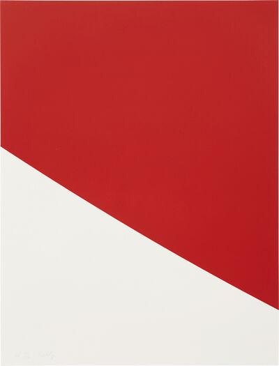 Ellsworth Kelly, 'Red Curve', 1999