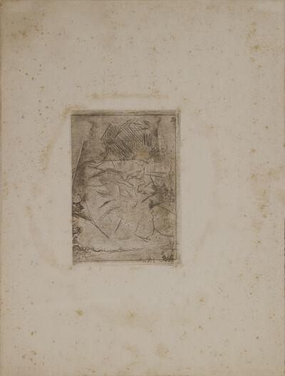 Umberto Boccioni, 'Donna Che Fuma Mentre Scrive', 1908