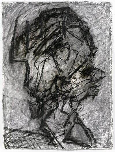 Frank Auerbach, 'Head of Julia in Profile II', 1989