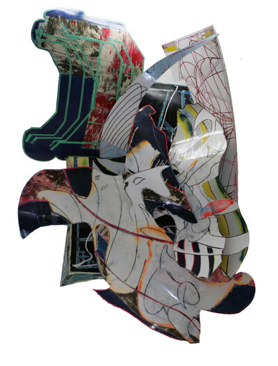 Frank Stella, 'The Mat-Maker (D-13, 2X)', 1990