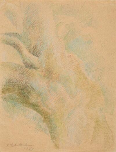 Pavel Tchelitchew, '(i) Leaf Studies (ii) Leaves (iii) Leaves'