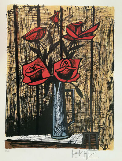 Bernard Buffet, 'Bouquet de Roses', 1982