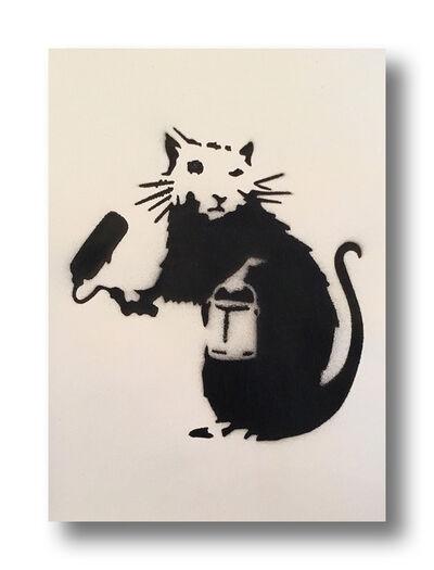 After Banksy, 'Roller Rat', 2015