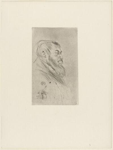 Henri de Toulouse-Lautrec, 'Portrait de Tristan Bernard', 1895