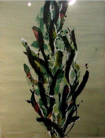Catharine Warren, 'Cypress Green', 2001