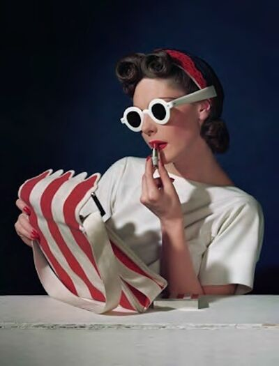 Horst P. Horst, 'Muriel Maxwell, Ensemble by Sally Victor, Bag By Paul Flato, Sunglasses By Eugene', 1939
