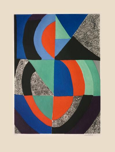 Sonia Delaunay, 'Composition ', ca. 1970