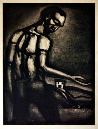 Georges Rouault, 'En Tant D'Ordres Divers Le Beau Métier D'Ensemencer Une Terre Hostile', 1948
