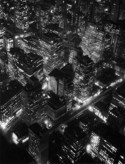 Berenice Abbott, 'NIGHTVIEW, NEW YORK', 1932