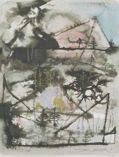 Zao Wou-Ki 趙無極, 'Montagnes embrumées', 2006