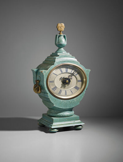 Sir Edwin Lutyens, 'Important and rare Mantel clock, designed for Lady Willingdon, the Viceroy's House, New Delhi', circa 1930