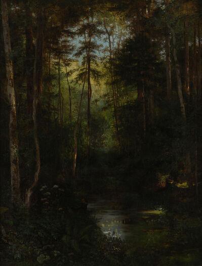 Otto Viktor Frölicher, 'Einsiedelei bei Solothurn (Verenaschlucht)', 1866