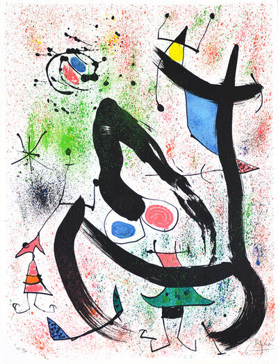 Joan Miró, 'Les Voyants (The Seers)', 1970