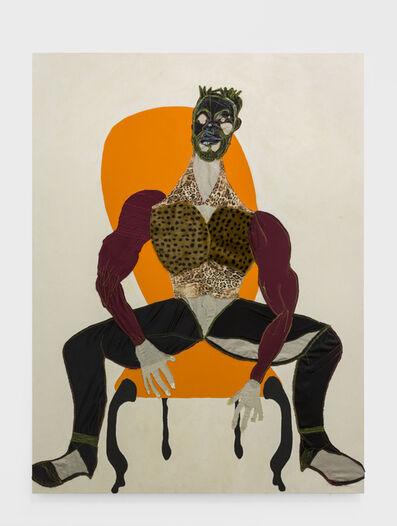 Tschabalala Self, 'Mane', 2016