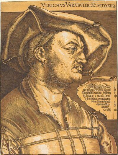 Albrecht Dürer, 'Ulrich Varnbuler', 1522